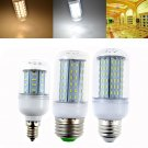 US E12 E26 E27 LED Corn Bulb Light 7W 12W 15W 18W 21W SMD 4014 Lamp White AC110V