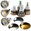 LED Spotlight E26 E27 E14 GU10 GU5.3 Dimmable 6W 9W 12W Bulb COB SMD Lamp Bright