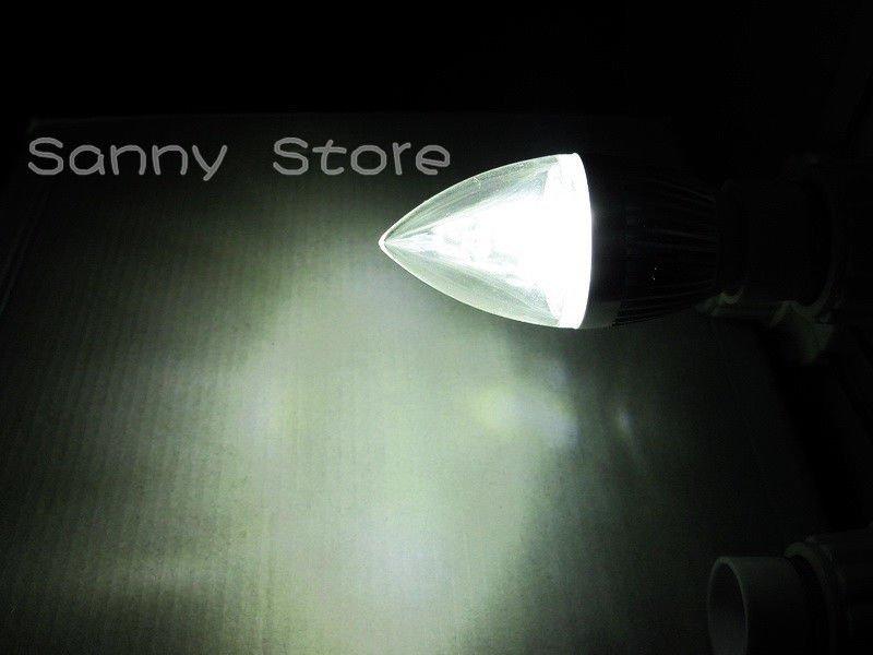 E12 E27 E14 6W Dimmable LED Candle Light Bulb Lamp High Power Warm Cool White US