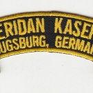 Sheridan Kaserne (Augsburg) presales mid feb