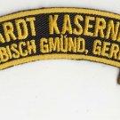 Hardt Kaserne (Schwabisch Gmund) presales Mid Feb 2018