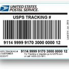USPS with tracking