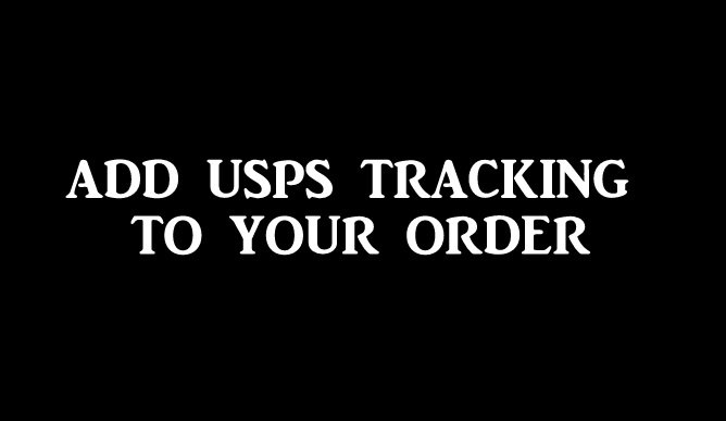 add USPS tracking to order