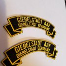 Giebelstadt AAF (Army Airfield) patch 2 pack