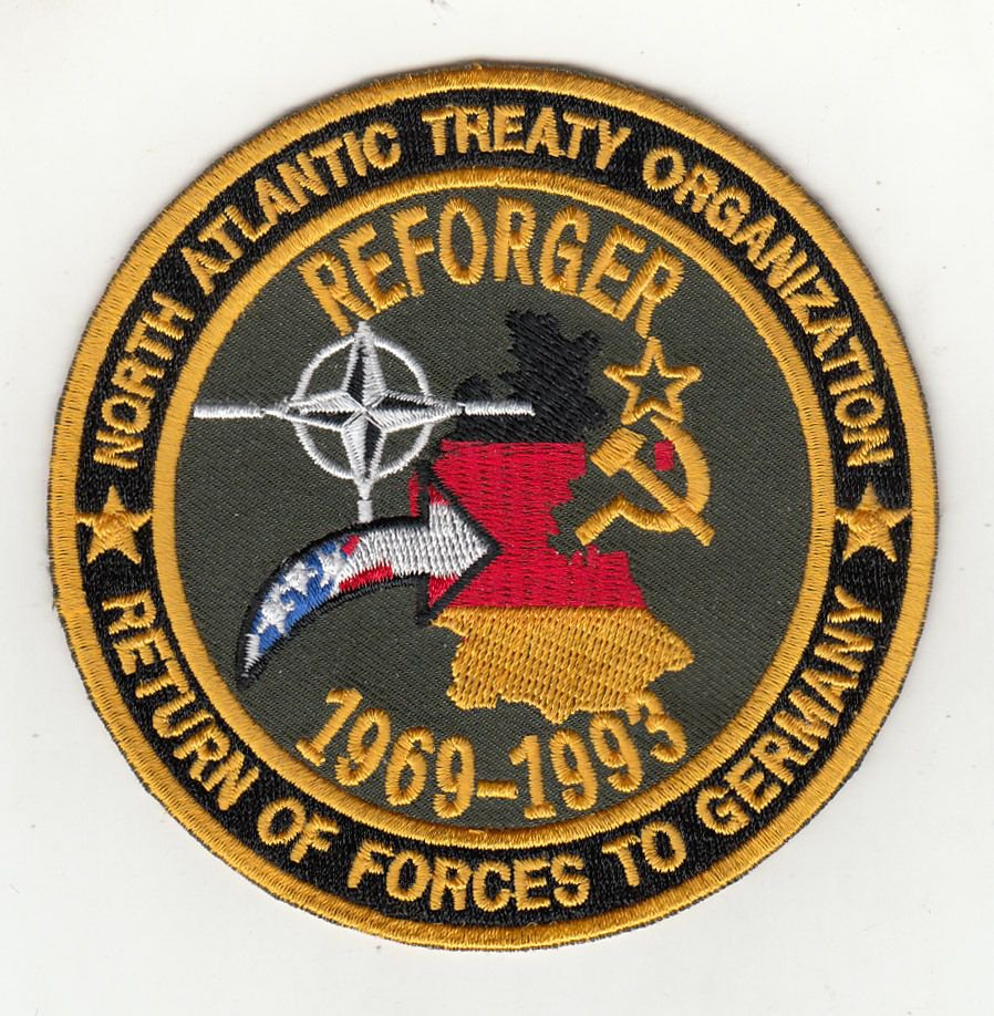 """ReForger 4"""" round patch"""
