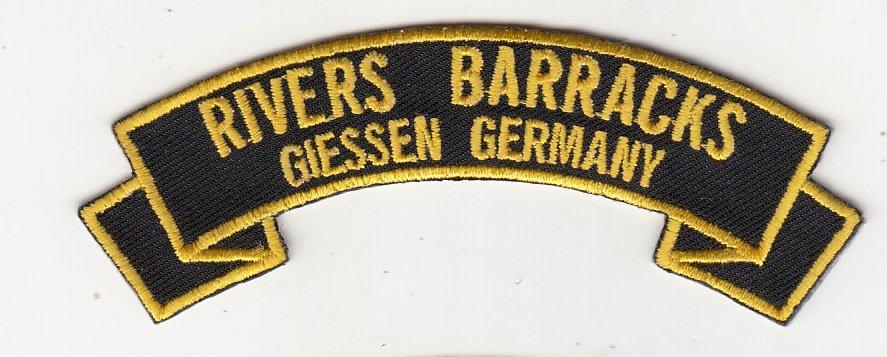 Rivers Barracks (The Zoo) Giessen-IN STOCK!