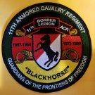 "11th ACR Border Legion patch 5"" Round-original version"