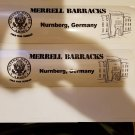 Merrell Barracks (Nuremberg,Germany) bumper sticker