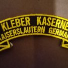 Kleber Kaserne  ( Kaiserslautern)