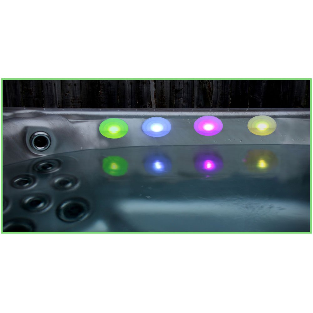 Set of 4 Pool, Bath and Hot Tub Lights
