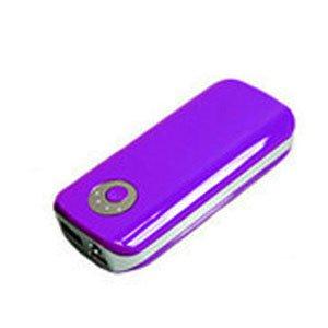 Purple Portable Power Bank