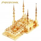Piececool 3D Metal Puzzle The Heart Of Chechnya Mosque Building P060G DIY 3D Laser Cut Models Toys