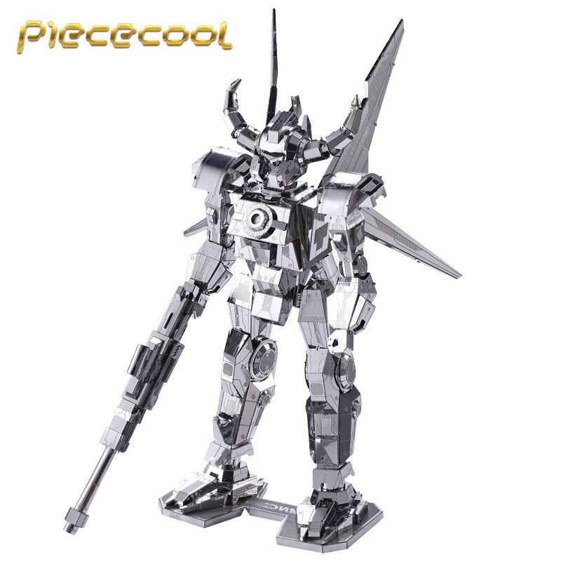 Piececool 3D Metal Puzzle Spirit-bull Mecha Building Kits P055S DIY 3D Laser Cut Models Toys