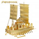 Piececool 3D Metal Puzzle Korea Panokseon Ship P021G DIY 3D Laser Cut Assemble Models Toys For Audit