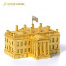 Piececool 3D Metal Puzzle The White House P010G DIY 3D Laser Cut Models Toys For Audit