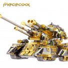 Piececool 3D Metal Puzzle Skynet Spider Superheavy Tank Model Kits P086-SGN DIY 3D Laser Cut Toys