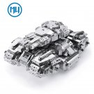MU 3D Metal Puzzle Starcraft 2 Siege Tank Model Kits DIY 3D Laser Cut Jigsaw Toys