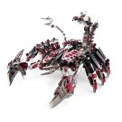 Microworld Red Devils Scorpion DIY 3D Assemble Metal Model Kits Nano Puzzle Jigsaw Toys D003