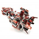 Microworld Flaming Spaceship DIY 3D Assemble Metal Model Kits Puzzle Laser Cut Jigsaw Toy