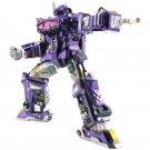 MU TTransformers Shockwave G1 Replaceable Parts DIY 3D Metal Puzzle Assemble Model Kits Toys
