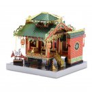 MU Chinese Traditional Architecture 3D Metal Model Kits DIY Assemble Puzzle Laser Cut Jigsaw Toy