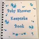 Baby Shower Boy Keepsake Book