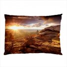 Standard Size Soft Knit Pillow Cases Canyonlands Landscape Design by Blue Skies Plus