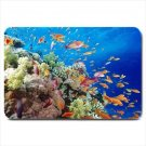 Underwater Tropical Fish Design Indoor Doormat Mats Rug for the Bedroom or Bathroom