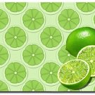 Green Limes Kitchen Mat Rug Home Decor - by Blue Skies Plus