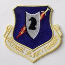 USA Air Force Electronic Security Command Shield Emblem Patch 3 Inches