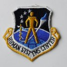 USA Air Force Human Systems Center Shield Emblem Patch 3 Inches