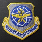 USA Air Force Military Airlift Command Shield Emblem Patch 3 X 3 Inches