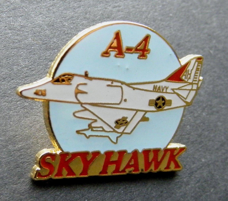 "US Navy USN USMC Douglas Skyhawk Sky Hawk A-4 Attack Aircraft Lapel Pin Badge 1"""""