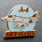 US Navy USN USMC Douglas Skyhawk Sky Hawk A-4 Attack Aircraft Lapel Pin Badge 1""""