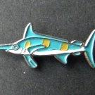 Blue Marlin Game Fish Salt Water Shark Lapel Pin Badge 3/4 Inch