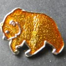 Grizzly Brown Bear Animal Wildlife Lapel Pin Badge 1 Inch