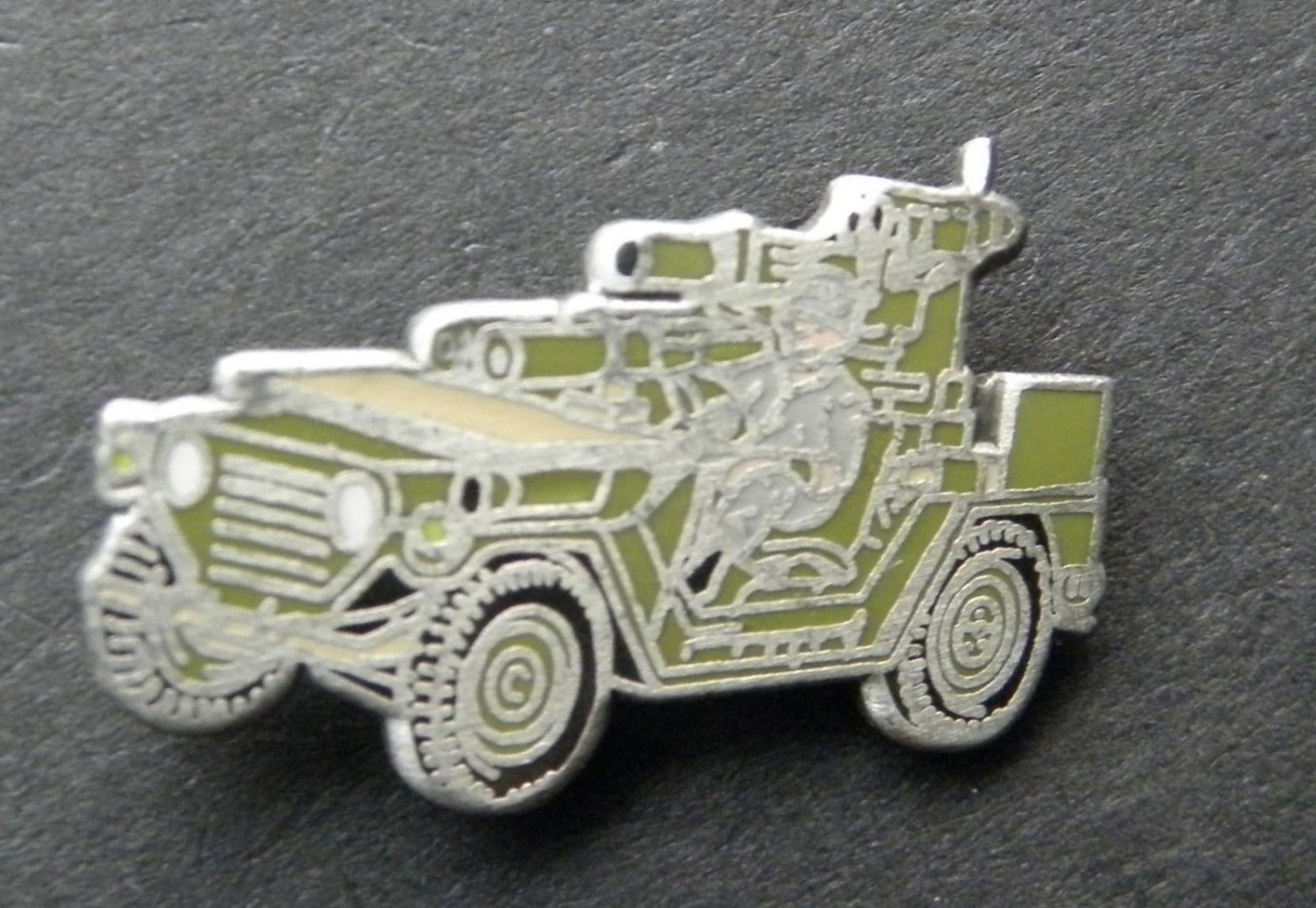 Army Jeep M151 Rocket Launcher Lapel Hat Pin Badge 1 Inch