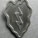 25Th Infantry Division Pewter Lapel Pin Badge 1 Inch United States Army