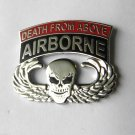 US Army Airborne Death From Above Wings Lapel Pin Badge 1.1 Inches
