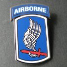 US Army 173Rd Airborne Brigade Lapel Hat Pin Badge 1.5 X 1 Inches