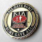 """KIA All Gave Some Some Gave All Patriotic Series Challenge Coin 1.6"""""""" New In Case"""