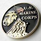 "USMC Marine Corps Iwo Jima Patriotic Series Challenge Coin 1.6"""" New In Case"