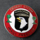 101St Airborne Div Operation Desert Storm Iraqi Freedom Lapel Pin Badge 1 Inch