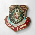 Desert Storm 1991 US Army Veteran Shield Lapel Pin Badge 1 Inch