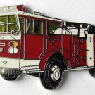 Fire Engine Firefighter Fireman Large Truck Lapel Pin Badge 1.5 Inches