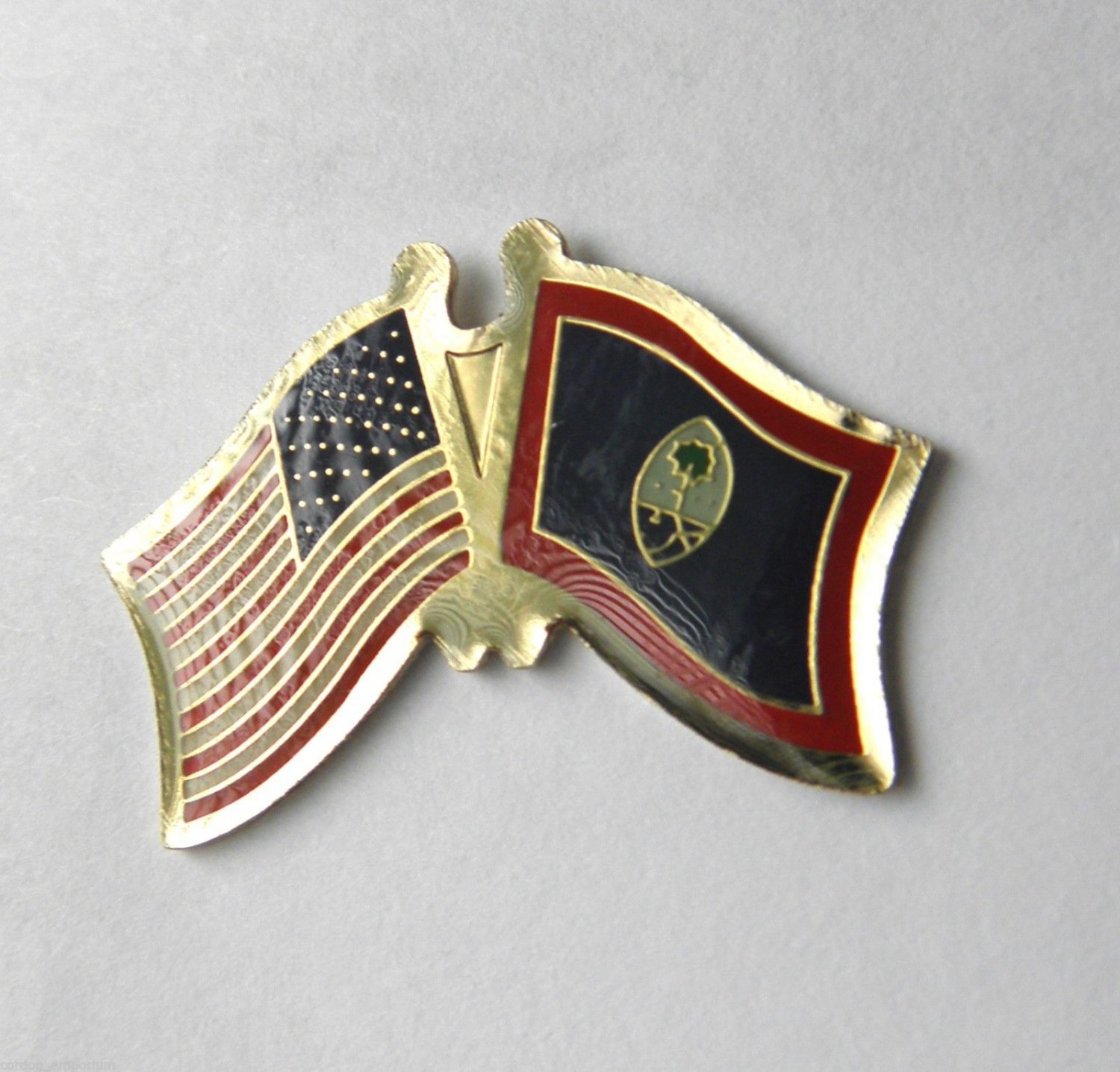Guam National Country World Flag Combo Lapel Pin Badge 3/4 Inch