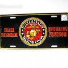 US Marine Corps Iraqi Enduring Freedom License Plate