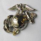 US Marine Corps Globe Anchor Lapel Pin Set Of 2 Left And Right 1 Inch