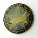 Space Shuttle Columbia NASA Sts-5 Commemorative Lapel Pin Badge 1 Inch