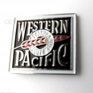Western Pacific Feather River Route Railway Lapel Pin Badge 1 Inch